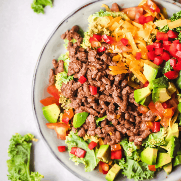 Keto Taco Salad Recipe