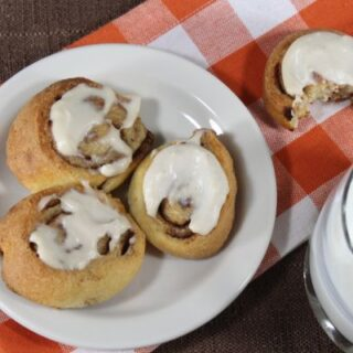 Low Carb Frosted Cinnamon Rolls Recipe
